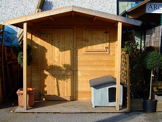 casette in legno per arredo giardino