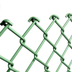 rete-griglia-rombi-plastificata-tirare-estensibile-verde