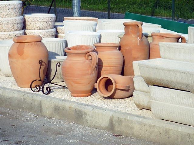 vendita vasi da giardino