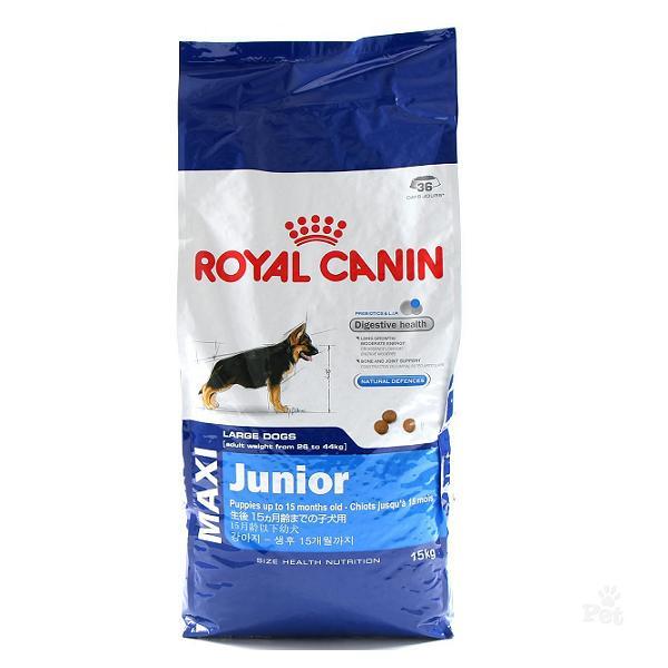 royal canin maxi junior kg 15 3kg omaggio emporio della natura. Black Bedroom Furniture Sets. Home Design Ideas